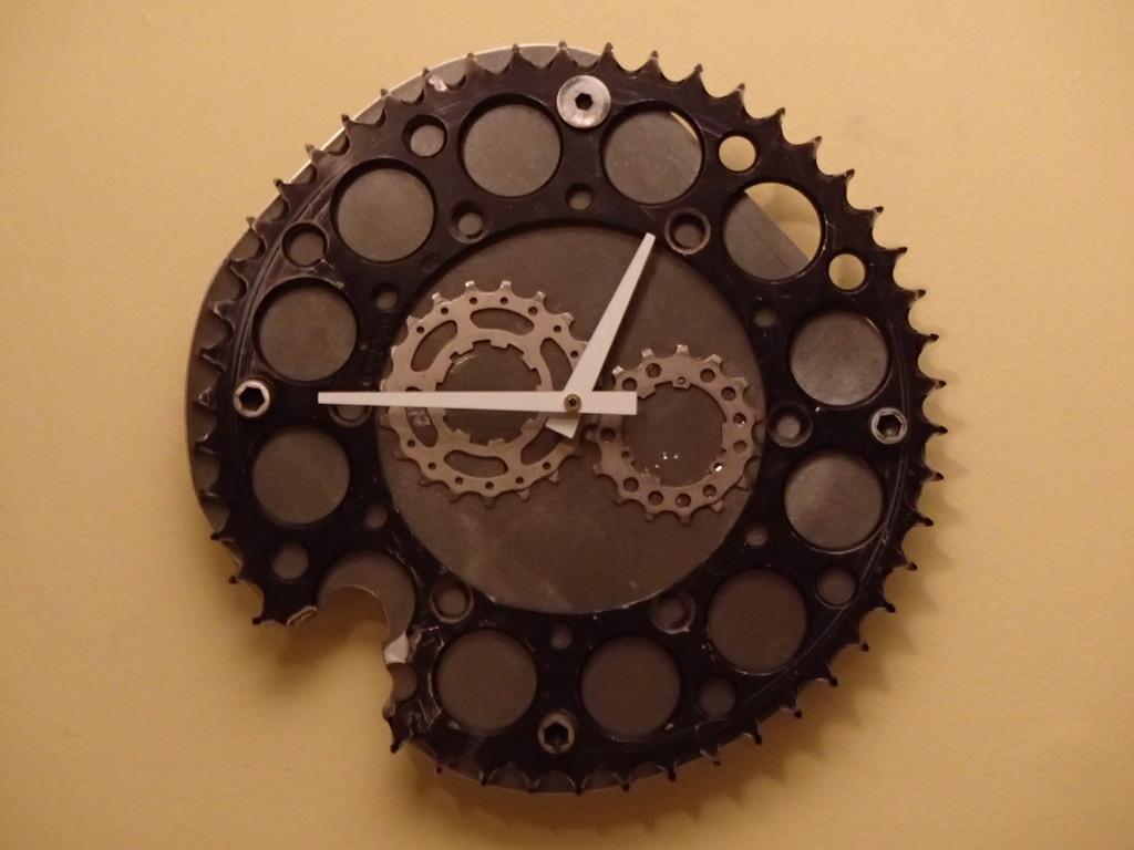 Most recent image: cog clock
