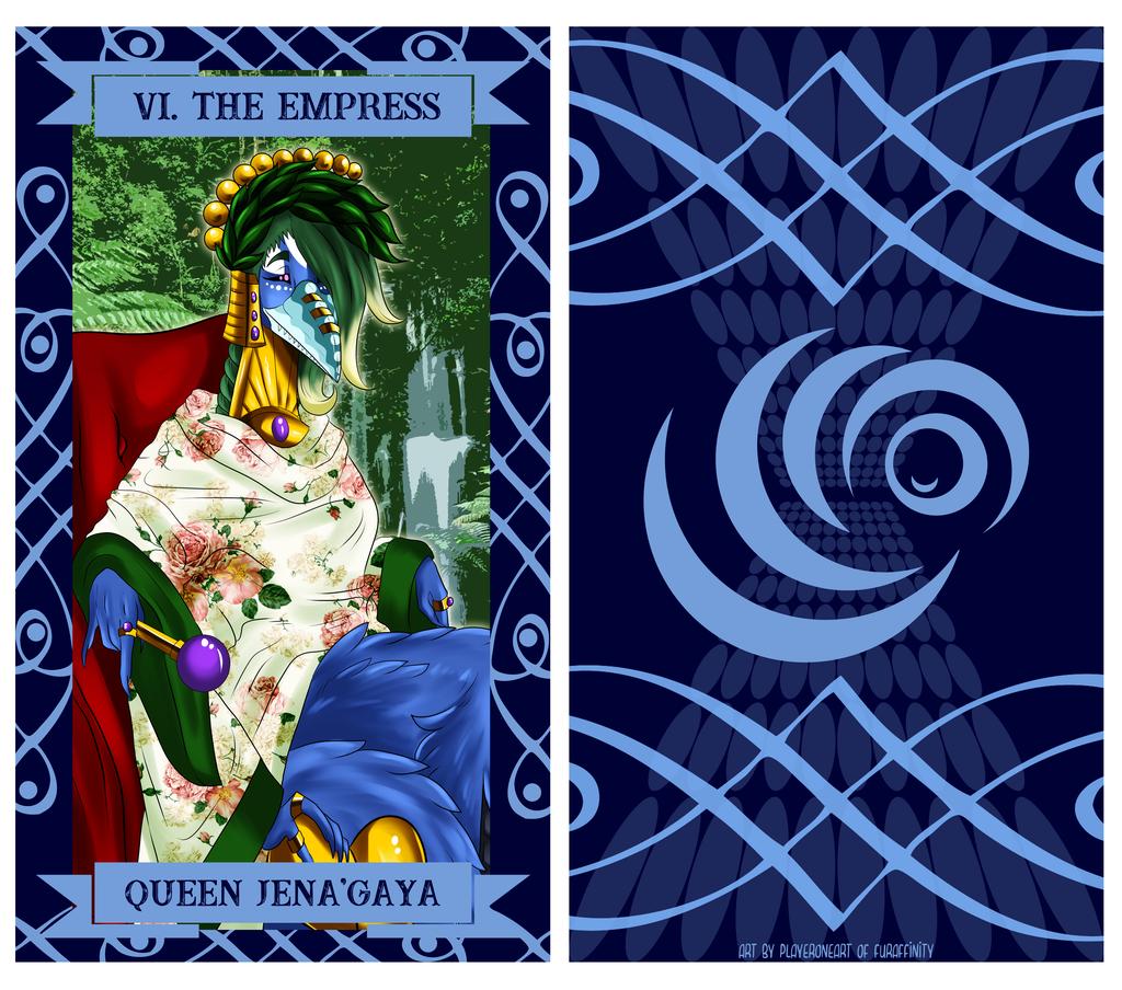 The Uragi Tarot - VI The Empress