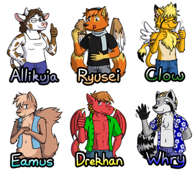 After-AC 2012 Badge Orders Set #2