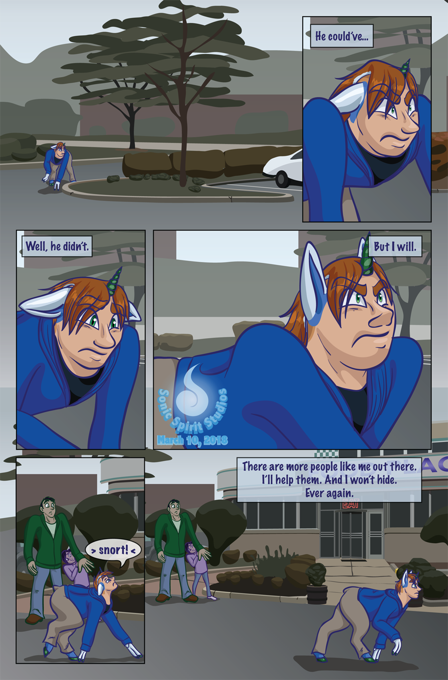 The New Normal - Prologue Page 6
