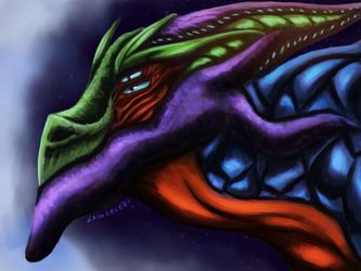 4 eyed dragon