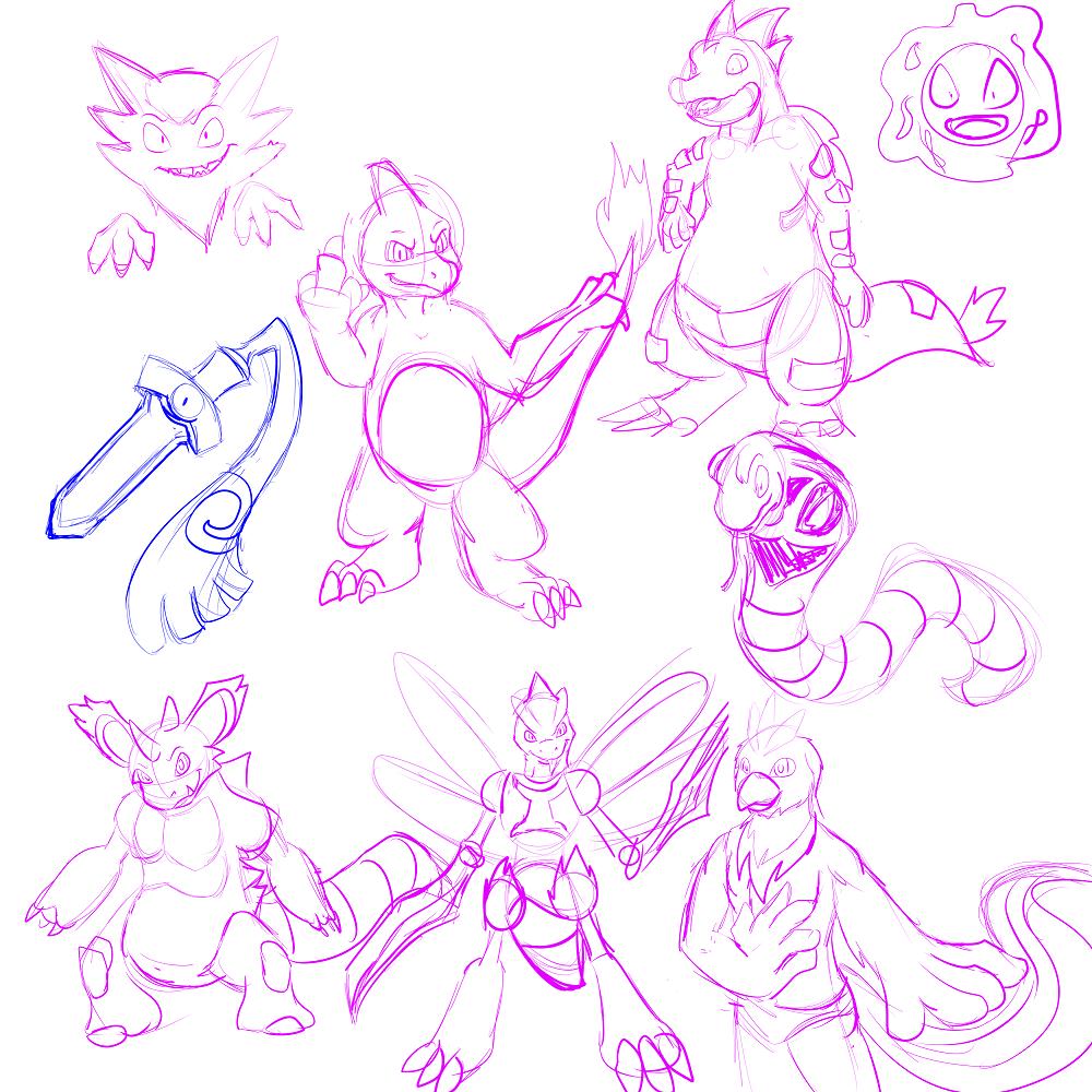 Pokemon Sketch Dump