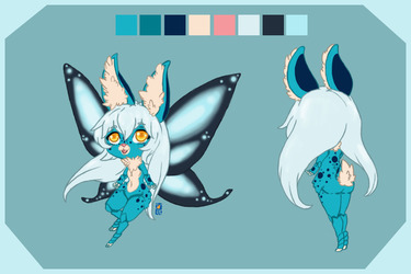 Egg adopt: Glowing butterfly wings