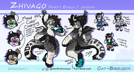 New Ref Sheet for me!