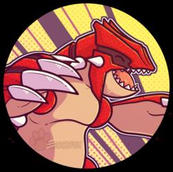 Pokemon Icon Groudon