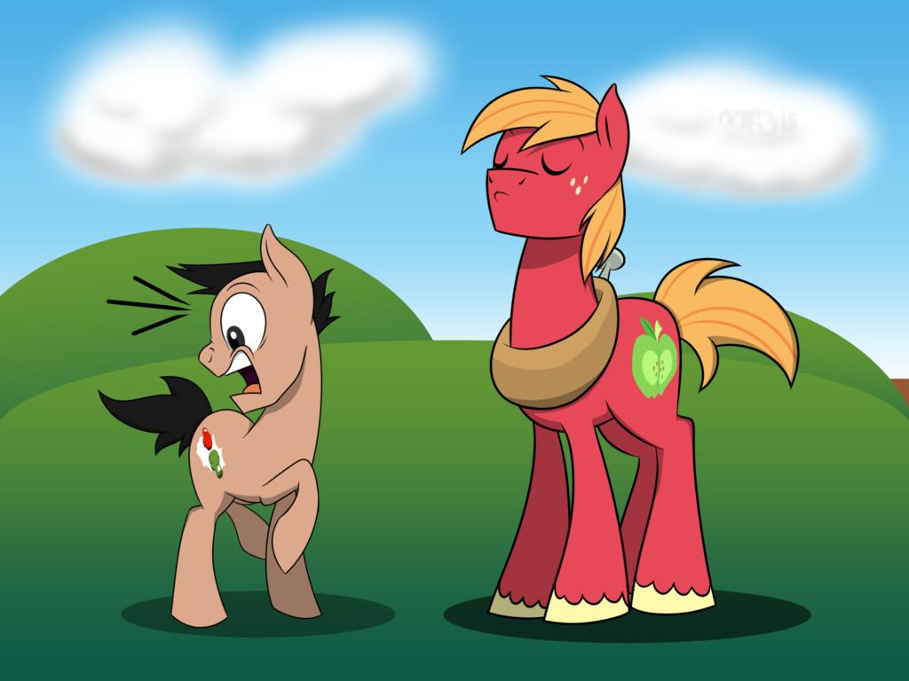 Big Mac and Little Mac Pony