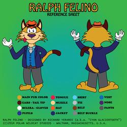 Ralph Felino Reference Sheet