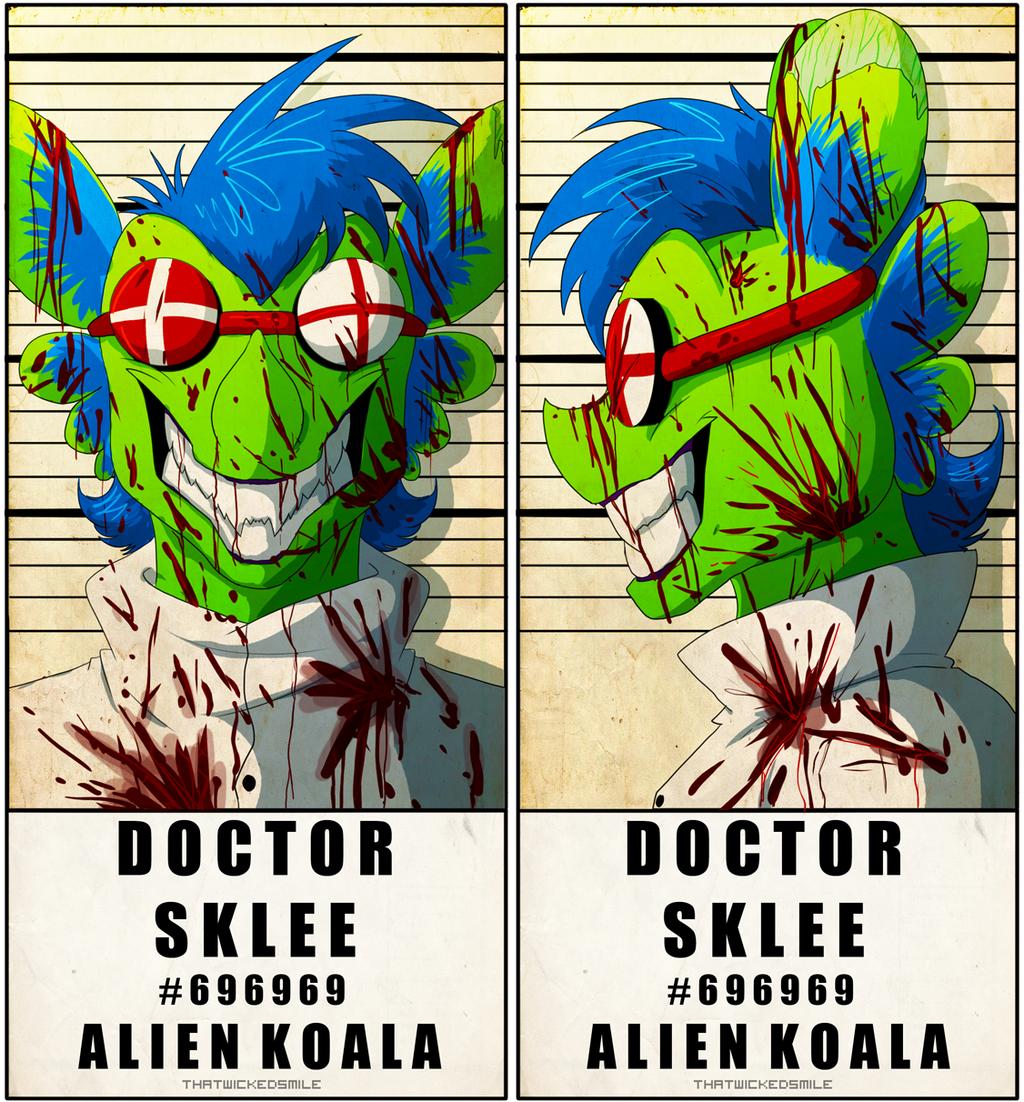 Police Line Up - Dr. Sklee