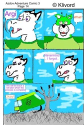 Azdov Adventure Comic 3 Page 14