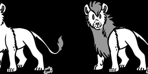 P2U BASE || Lion Chibis