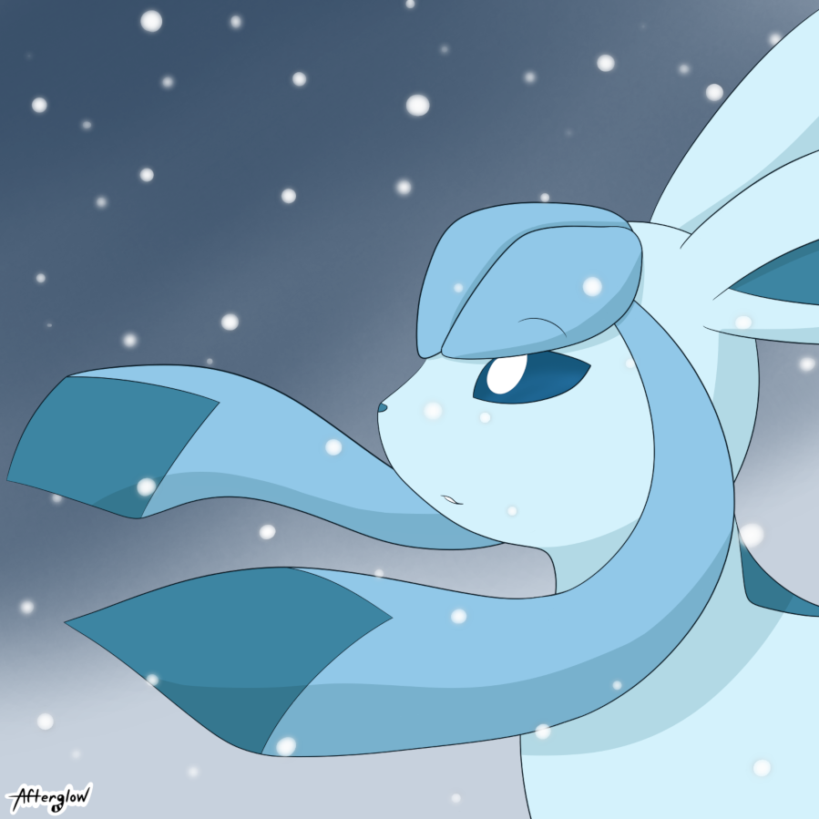Windswept Glaceon