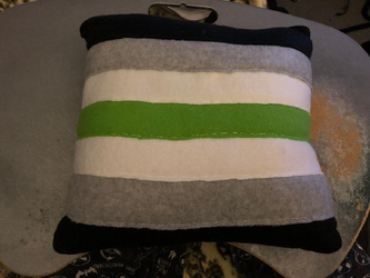 LGBT Agender Pride Flag Throw Pillow For Sale