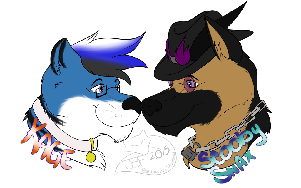 Kage and ScoobySnax couples badges