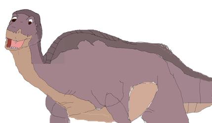 Littlefoot drawing
