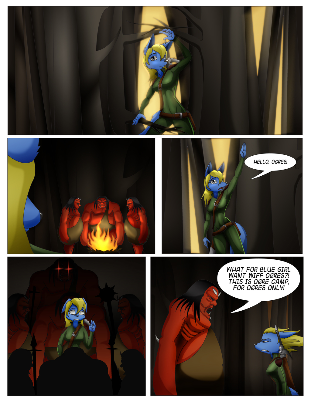 Lone Candle, Book 1, Page 20