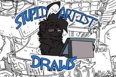 Stupid Artist Draws: Scrap Island