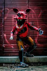 Foxy Cosplay - Alleyway shoot