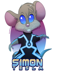 BSOD Simon Badge (by Marymouse)