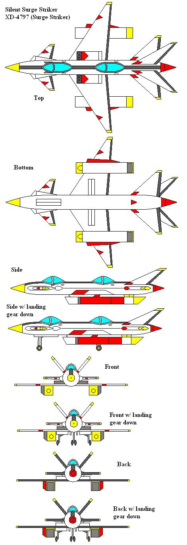 Silent Surge Striker XD-4797