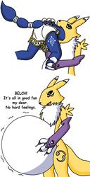 Reanamon Eats Krystal (By imaginaria2)