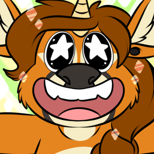 [commission] Starry Icon: PetitCerf