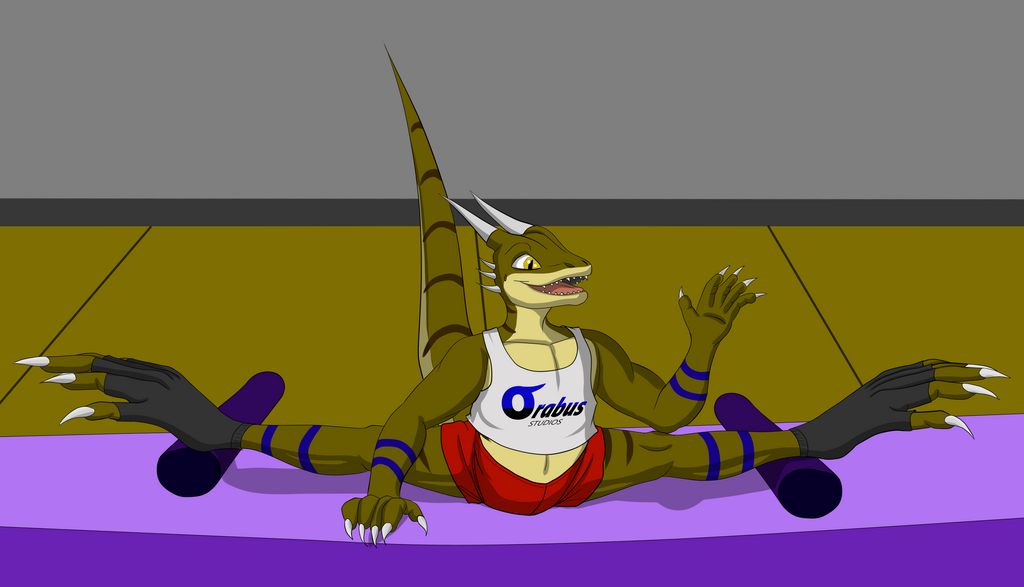 Most recent image: Chase my super flexible derg lizzy friend