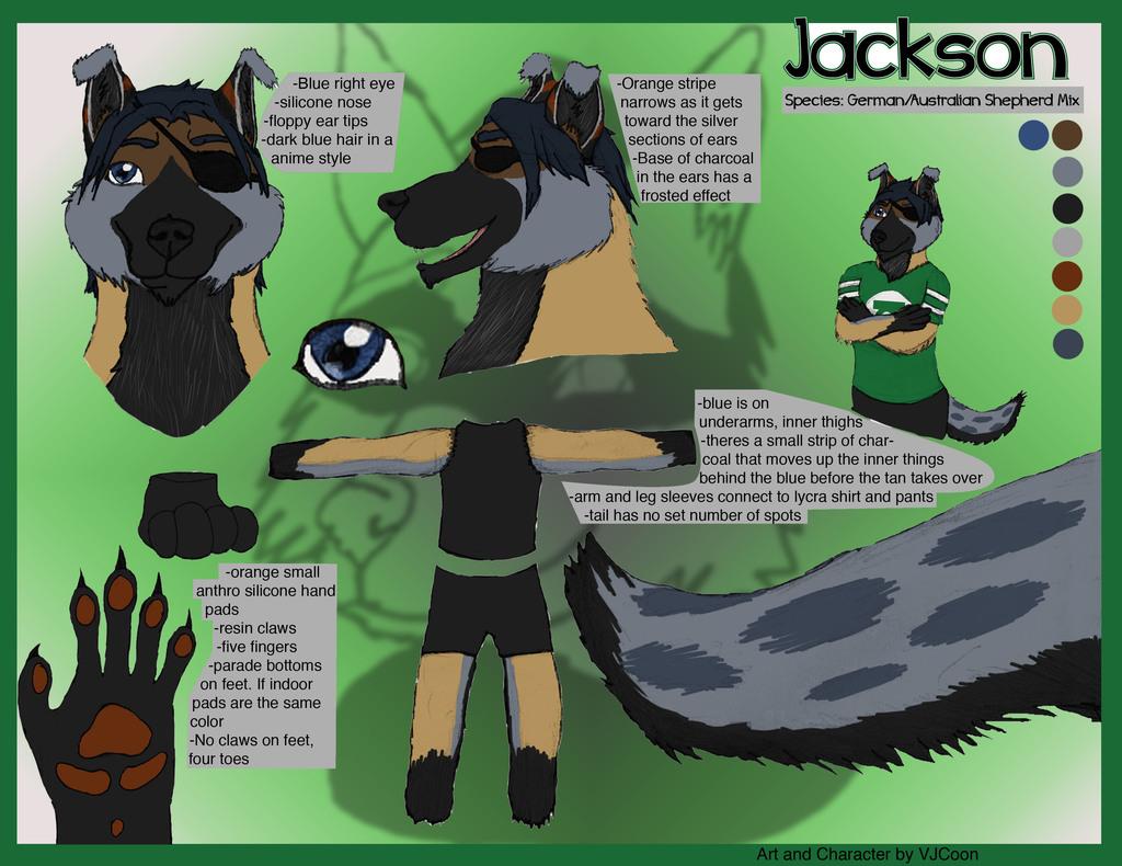 Jackson fursuit Ref