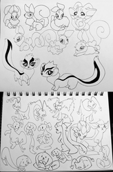 neopets doodles