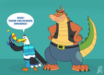 Craig and Dingodile: Craig's New Weapon