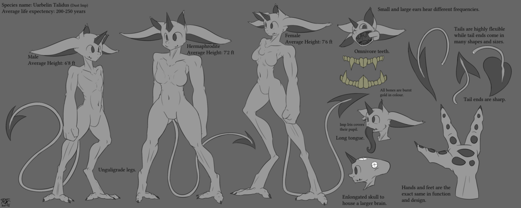 Most recent image: Dust Imp Species Reference