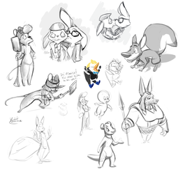 Stream doodles - 30.09