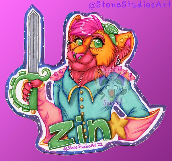 Most recent image: CouchCon Theme Badge - Zin