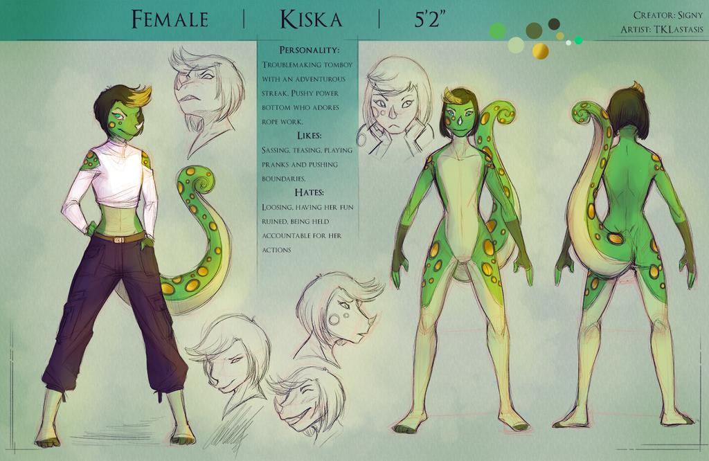 Commission - Kiska Ref