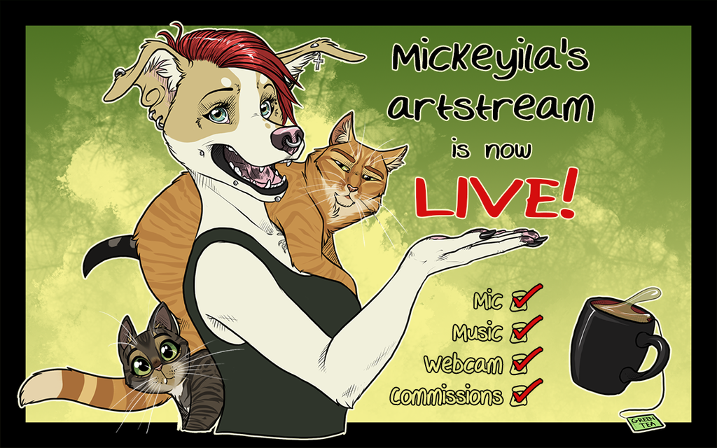 Most recent image: Weekly Art Stream - NOW LIVE
