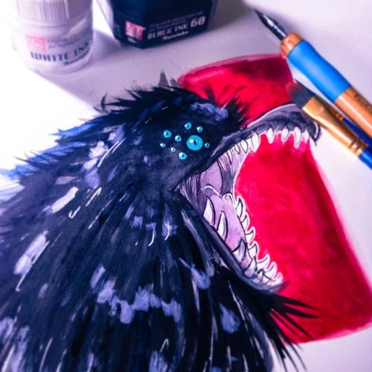 .: Demon Crow:.