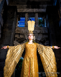 Cleopatra Phoenix cape