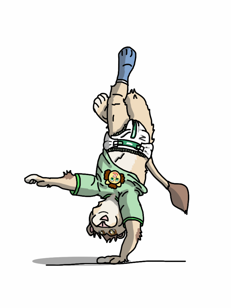 Most recent image: Handstand! (for tikky)
