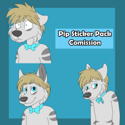 Pip Sticker Pack Comission