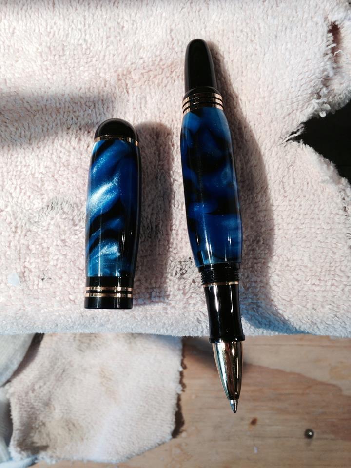 Blue Rollerball Pen for Hootman 2