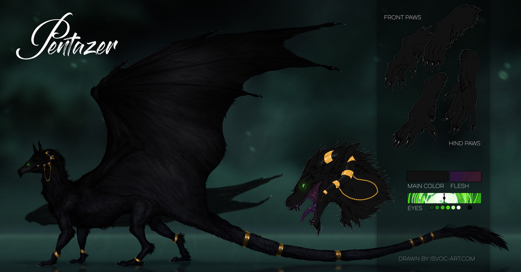 Most recent image: Abyssal dragon Pentazer