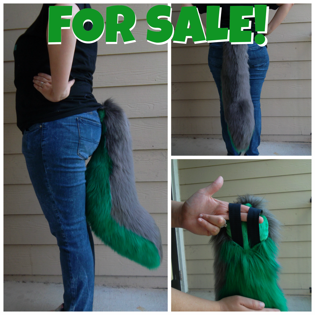 Most recent image: Fursuit Tail: FOR SALE!