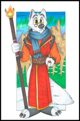 Jax Zauber, Arctic Fox Sorcerer