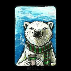 Polar Bear ACEO