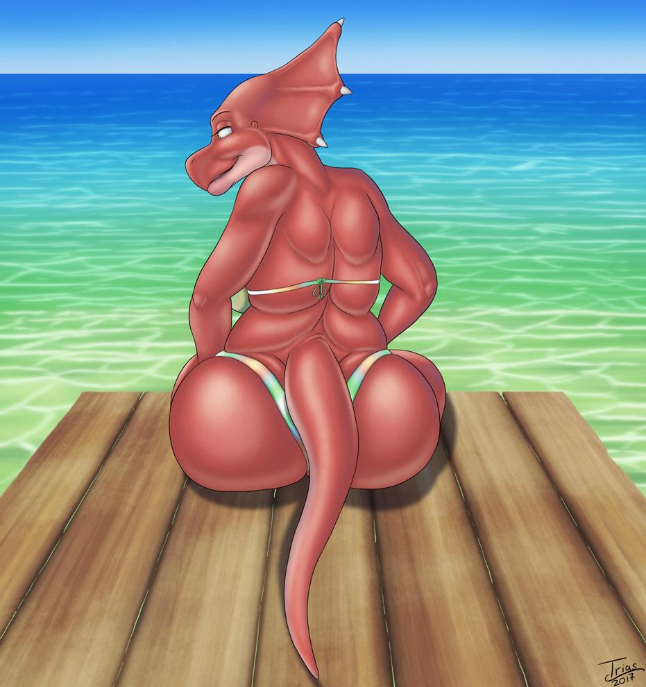 What happens at the pier, Viv?