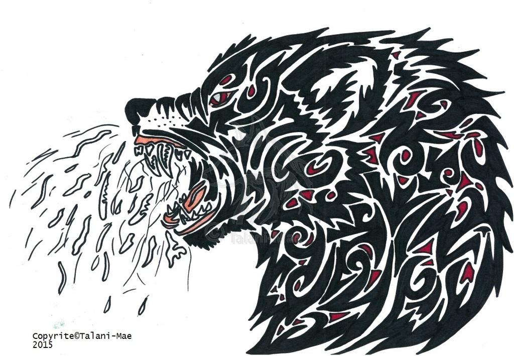Tribal Momma Wolfbear Vent