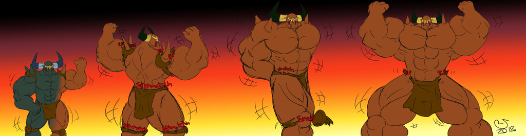 MG Sketchmission: Pluto Muscle Growth
