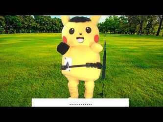 Mascot Fursuiting: Anthro Pichu Evolves into Ace Spade the Pikachu