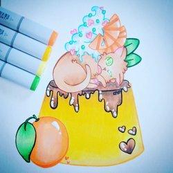 Sweets Animals - Flan Cat