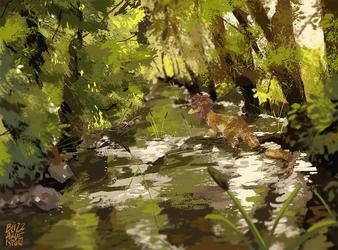 Ruisseau tranquille