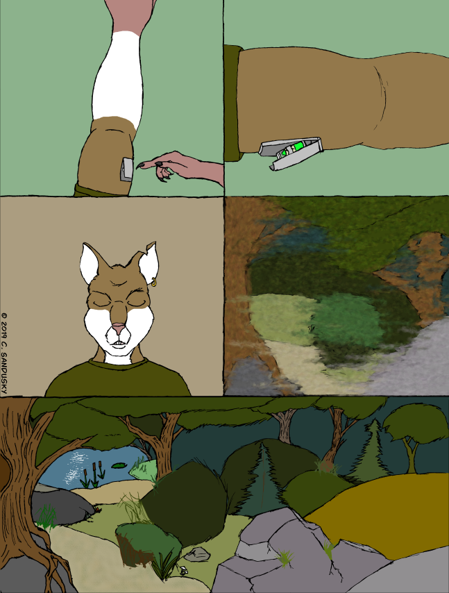 Not What I Was - Page Fourteen